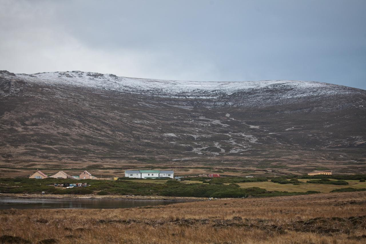 The Lodge & Mt Weddell